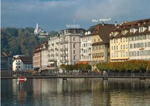 瑞士、荷兰、苏格兰城市景观实景照片