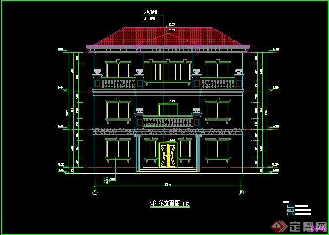 三层别墅建筑设计施工图2