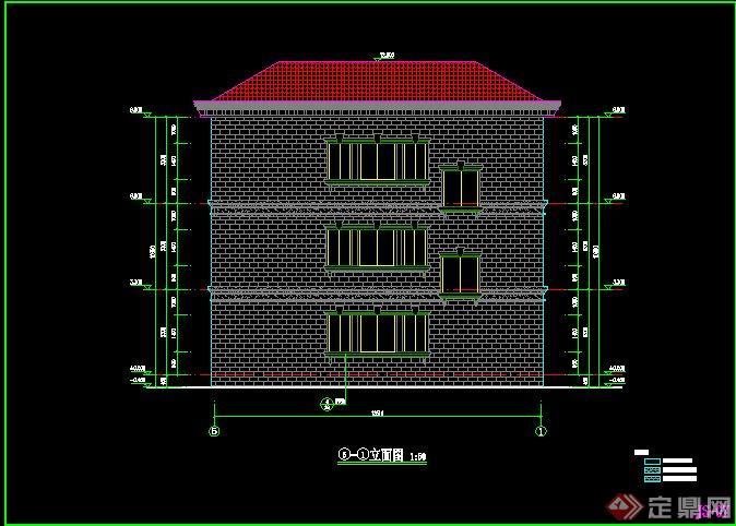 三层别墅建筑设计施工图3