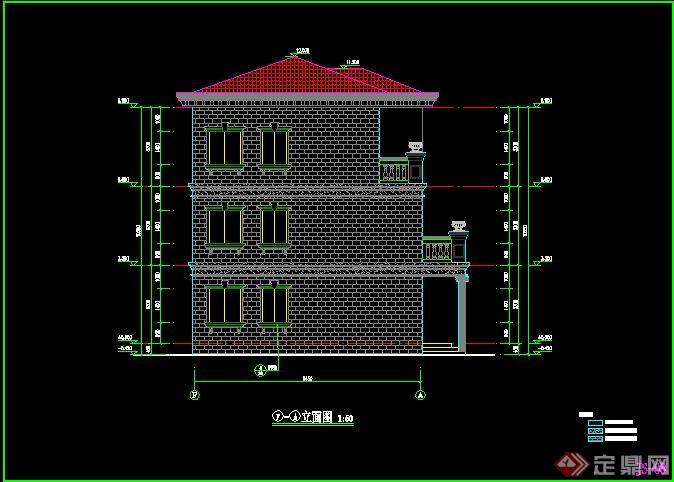 三层别墅建筑设计施工图4