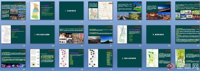 某城市景观系统项目策划设计案例讲稿ppt3