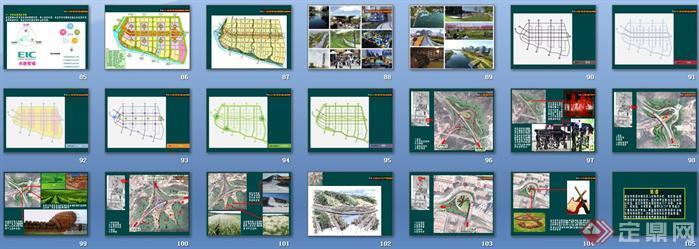 某城市景观系统项目策划设计案例讲稿ppt6