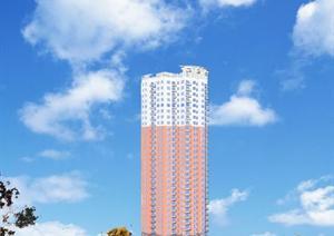 高层塔式住宅建筑设计作业