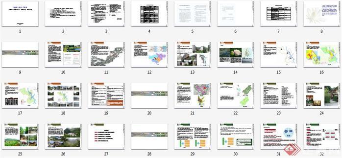 """某市某村""""美丽乡村""""建设规划设计方案文本目录1"""