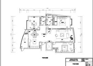 一整套家装设计平立面施工图
