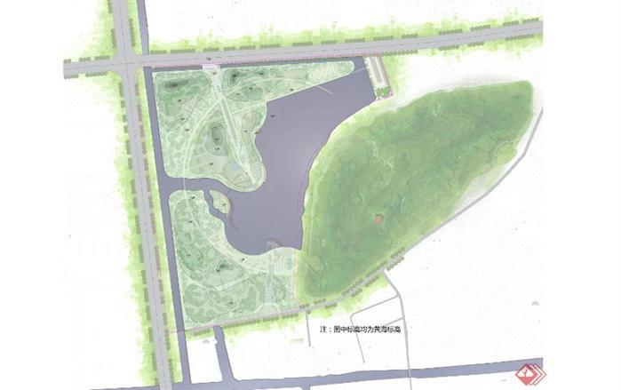 公园规划设计方案全套文本2