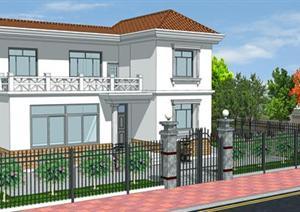 独栋别墅建筑设计施工图及效果图