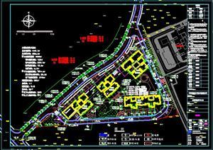 水榭花都1-4#栋居住建筑设计方案图