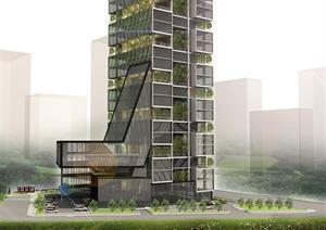 高层办公楼设计方案