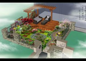 经典别墅庭院设计方案