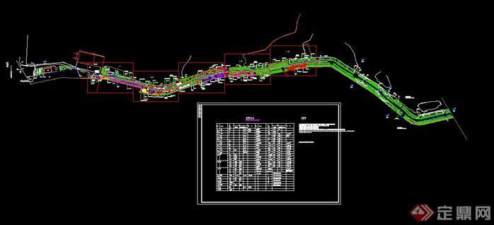 1滨水公园绿化平面图