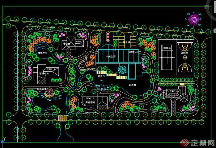休闲中心景观规划