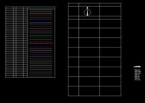 土人景观CAD分层标准 图层图例 景观施工图CAD