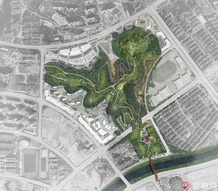 長沙某公園景觀提升改造設計方案文本1