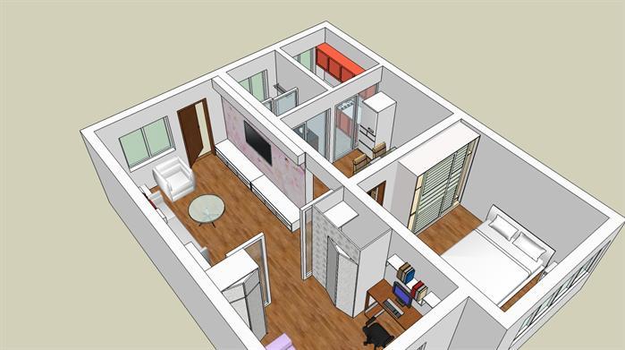 兩房兩廳室內(1)