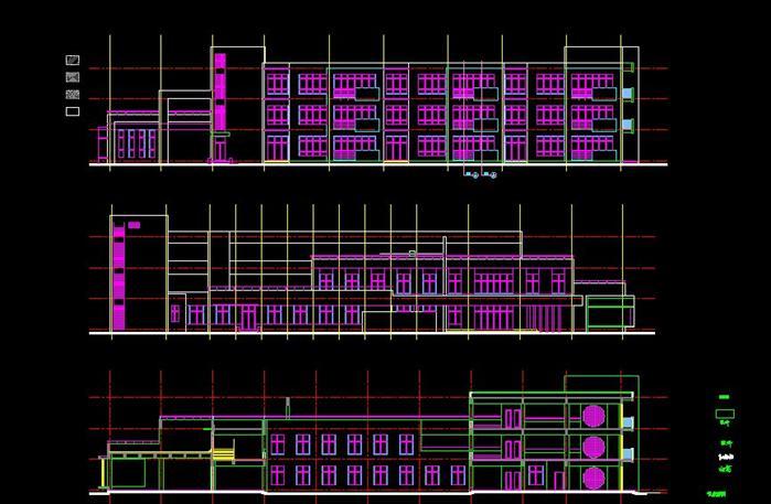某幼儿园建筑方案设计施工图1