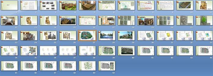 小区规划设计方案ppt汇总(2)