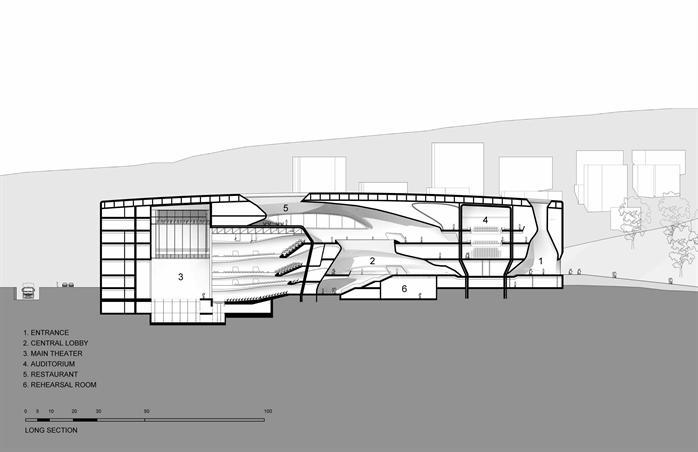 扎哈作品集(包含众多建筑效果图、施工图等)(4)