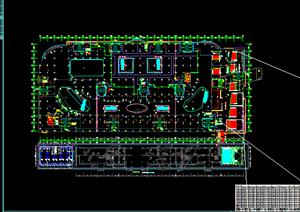 某电影院方案平面设计CAD图