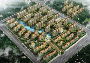南京某欧式风格别墅建筑设计方案