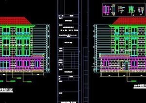 某欧式别墅建筑设计方案+施工图