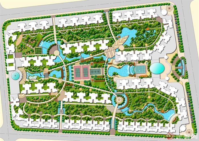 某小区景观设计方案(1)