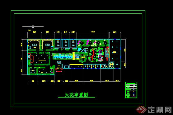 某生态园餐厅室内设计方案(3)