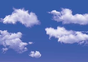 一套天空云朵PSD素材(5)