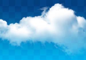 一套天空云朵PSD素材(2)
