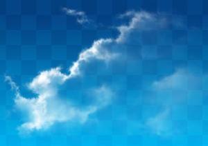 一套天空云朵PSD素材(6)
