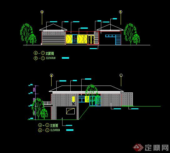 某小别墅建筑设计方案