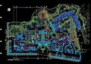 某温泉度假村规划方案图