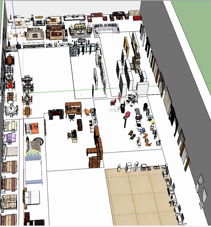 室内装饰常用素材su模型(1)
