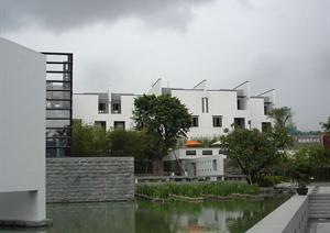 某别墅小区建筑设计实景图