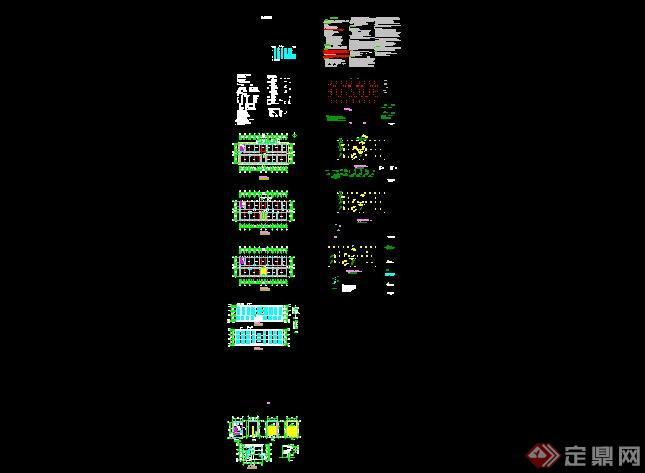 三层办公楼建筑设计方案图(2)