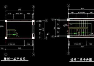 某现代风格别墅建筑施工图资料