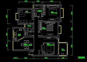 一套住宅装修全套方案图纸