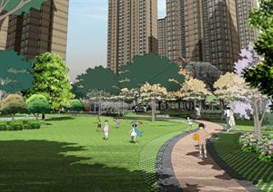 某住宅区景观设计方案文本