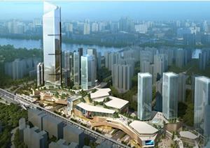 重庆某综合建筑规划设计方案文本
