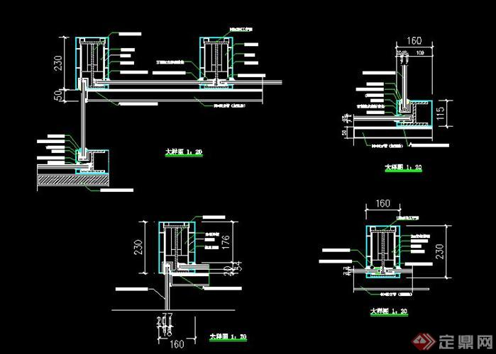 某地下车库入口钢结构雨棚设计方案及施工图
