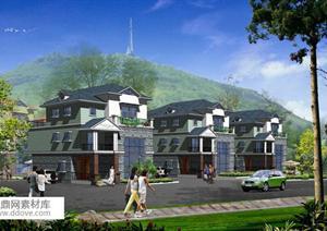 某现代风格新农村自建别墅户型设计方案