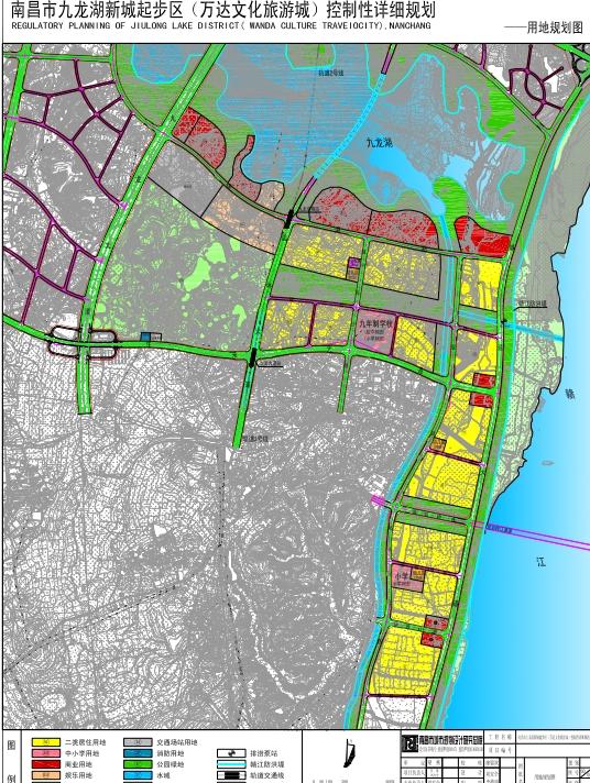 南昌市九龙湖新城起步区控制性详细规划方案