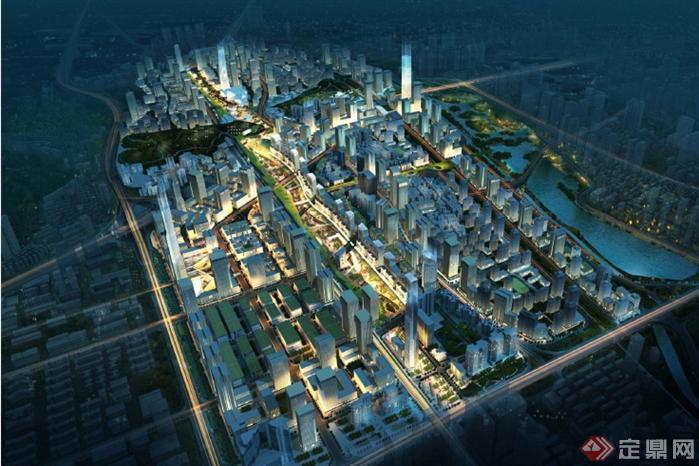 深圳市笋岗清水河片区发展规划设计方案(1)
