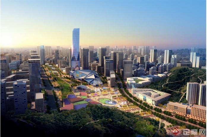 深圳市笋岗清水河片区发展规划设计方案(2)