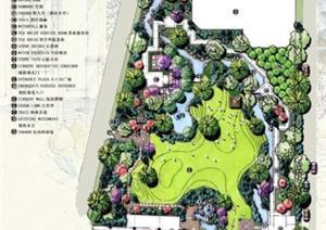 北京某现代风格饭店总体景观规划设计方案
