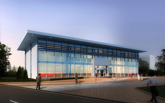 某旅游区游客服务中心建筑设计方案
