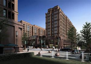 某现代风格住宅区建筑规划设计PPT文本方案