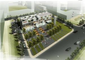 唐山某住宅小区+ 销售中心建筑规划设计汇报方案(PPT格式)