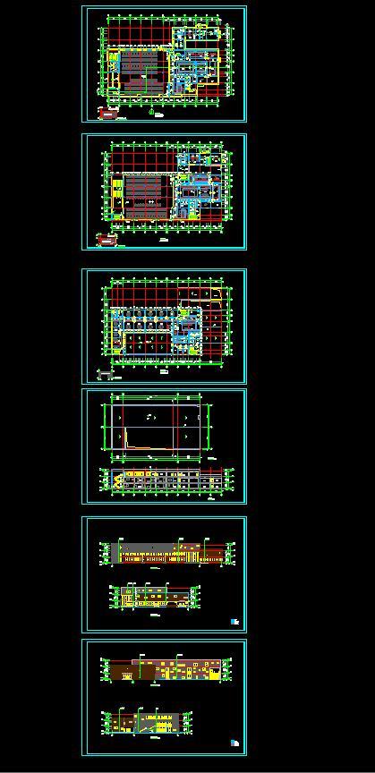 某三层食堂餐厅建筑设计方案