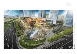 东莞某商业综合广场建筑设计方案